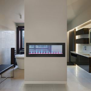 NAPOLEON CLEARion SEE-THRU ELECTRIC FIREPLACE