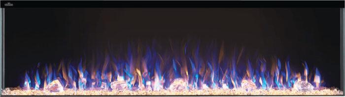 Trivista electric fireplace