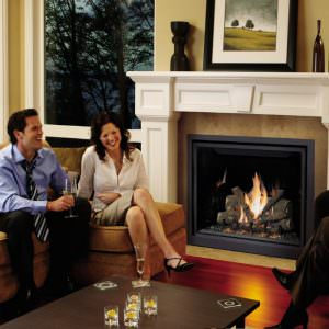 ProBuilder 42 Clean Face Gas Fireplace
