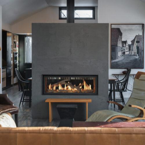 Fireplace X 4415 see thru image 1