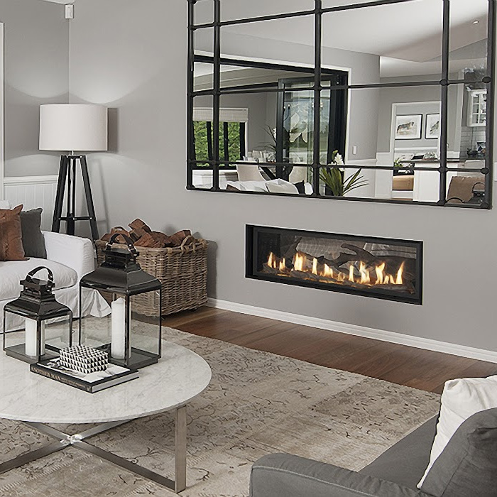 Fireplace X 4415 see thru image 2