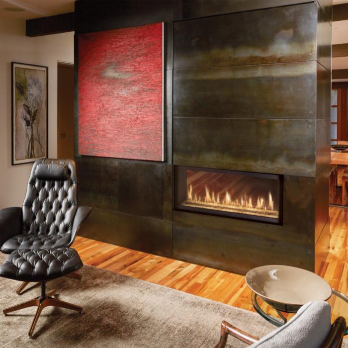 Fireplace X 4415 see thru image 4