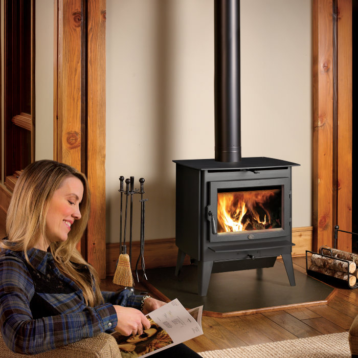 Evergreen wood stove