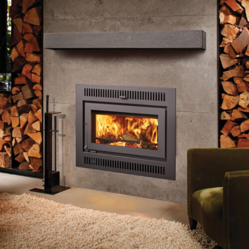 42 Apex wood fireplace