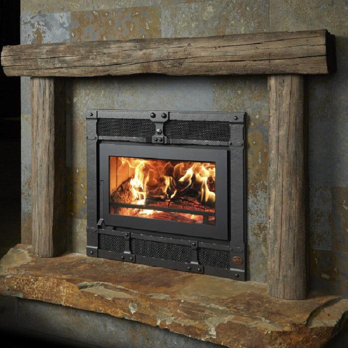 42 Apex wood fireplace 2