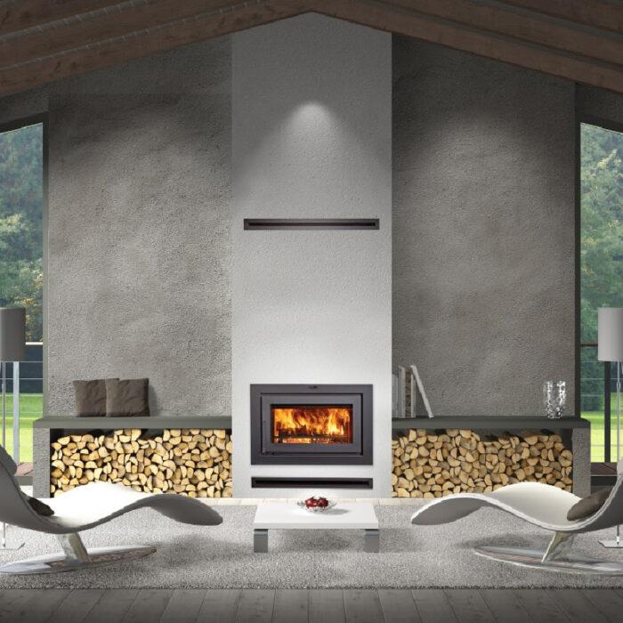 42 Apex wood fireplace 3