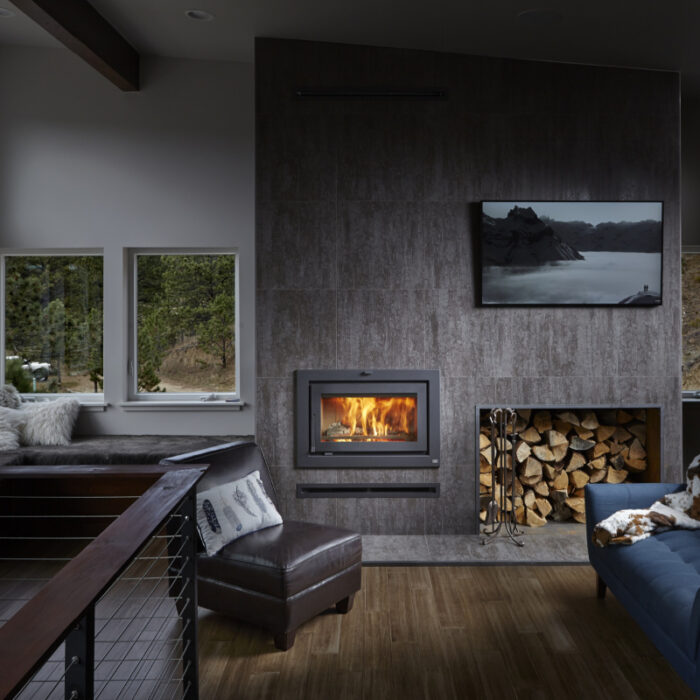 FPX 42 APEX CLEAN FACE WOOD FIREPLACE 1