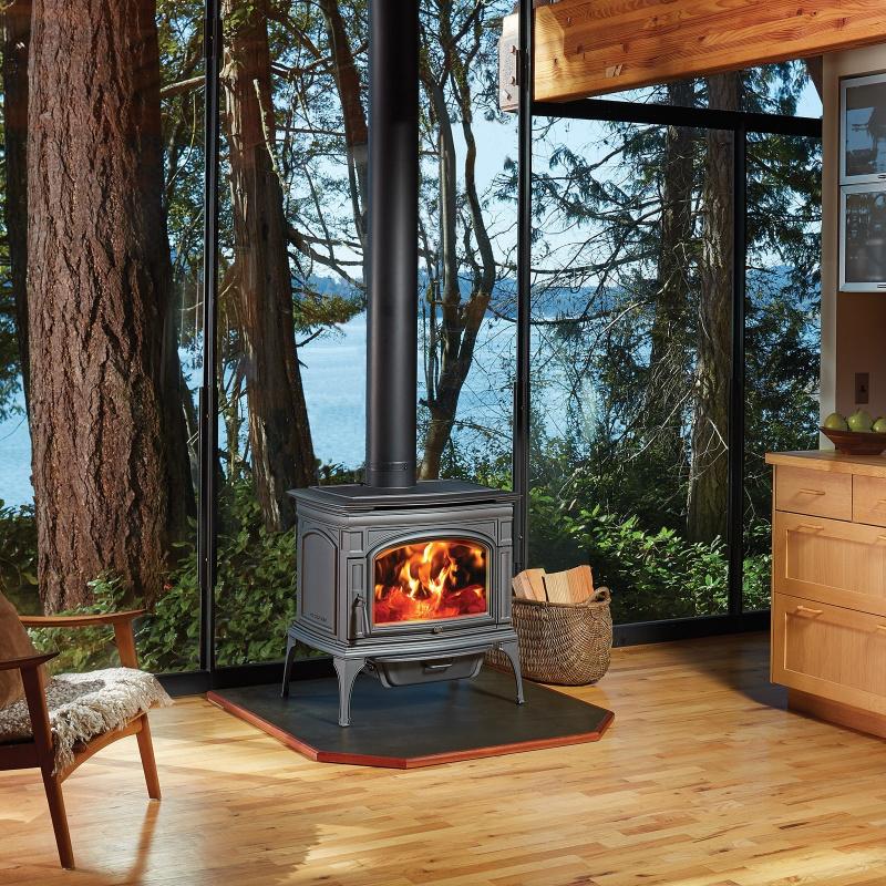 Lopi Rockport Hybrid Fyre Wood Stove 1