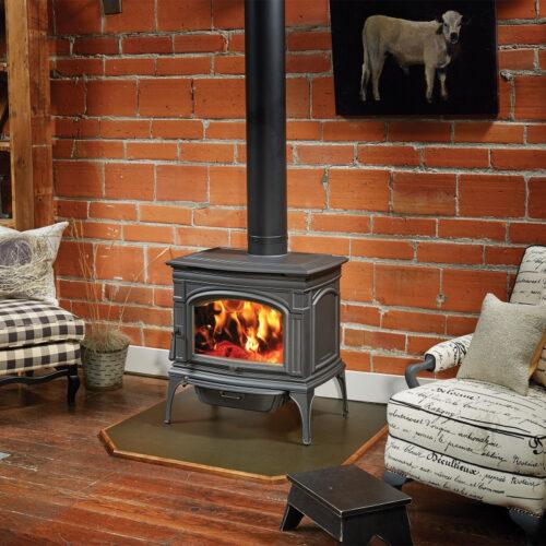 Lopi Rockport Hybrid Fyre Wood Stove 3