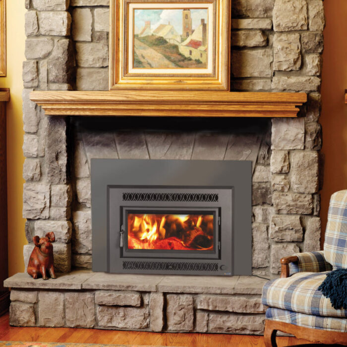 Medium Flush Wood NexGen-Fyre Rectangular Wood Insert