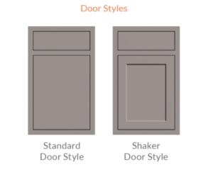 Canyon Series Door Styles OKK