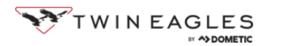 Twin eagles logo