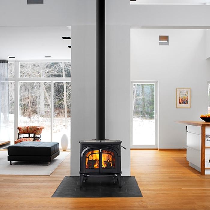 Vermont Castings Dauntless Flexburn Wood Burning Stove 4