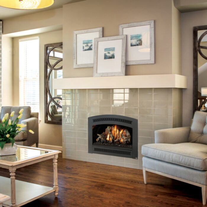 Fireplace Xtrordinair 564 TV 35K Gas Fireplace 1